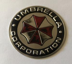 Umbrella Corporation Game Gaming Aluminium Badge Decal Sticker