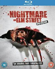 A Nightmare On Elm Street 1 2 3 4 5 6 7 New Region B Blu-ray Collection