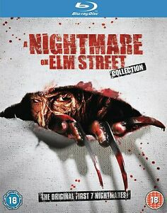 A Nightmare On Elm Street 1 2 3 4 5 6 7 New Region B Blu-ray Collection