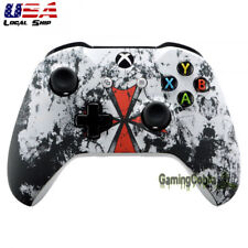Biohazard Soft Touch Faceplate Upper Case Shell for Xbox One S X Game Controller