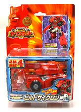 Transformers C-021 Red Construction Truck Takara #4 Cyclone Build Hightower
