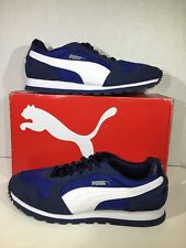 PUMA ST RUNNER NL Men's Size 9 Navy Blue Training Running Shoes Sneakers ZI-1582