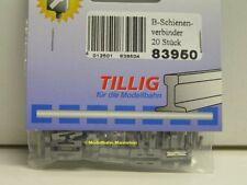 **Tillig 83950 TT Bettungsgleis Schienenverbinder, Neu**