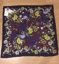 ERDEM X H&M Schal Tuch Seide Seidentuch floral scarf silk neu new