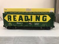 Aristocraft Reading (US Saving Bonds) Steel Boxcar w/ Metal Wheels ART-46024 #1