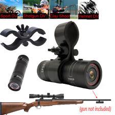 Hunting,Clay Shooting,Helmet Sport DV Video For Shotgun Rifle HD Camera+Gun Clip
