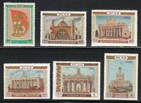 Russia 1954 MNH Mi 1731-1736 Sc 1729-1734 Agricultural Exhibition **