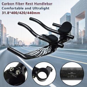 Full Carbon Bicycle Handlebar Rest Handlebar Road Bike TT Handlebar Glossy/Matte