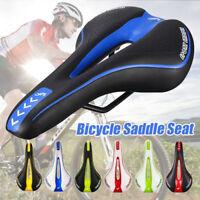 Bicycle Cycling Seat Soft Cushion Pad Mountain MTB Gel Extra Comfort Saddle Bike