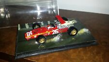 Brumm/AutoStory diorama - Ferrari 312 - Jacky Ickx  - 1968 French Grand Prix