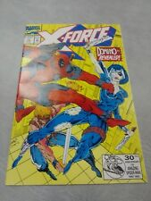 X-Force #11 White pages 1st real Domino