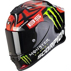 Scorpion Exo-R1 Air Fabio Quartararo Monster Replica Motorcycle Helmet Gp Racing