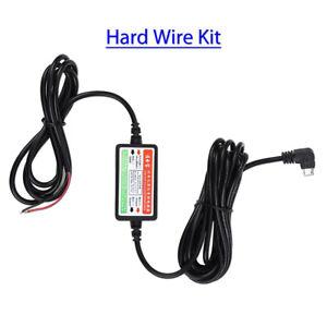 Original 3m Hard Wire Kit 5V Adapter Micro USB für Mini 1/2 Dash Kamera!