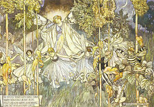 Midsummer Nights Dream By Stephen Reid Repro Print Poster Picture Image Art A4
