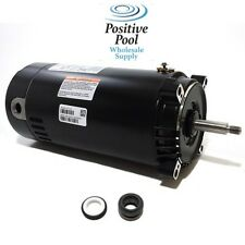 AO SMITH 1.5 HP UST1152  HAYWARD REPLACEMENT POOL PUMP MOTOR ROUND C-FLANGE