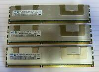 Samsung M393B5170FHD-CH9 12GB (3x4GB) 2Rx4 PC3-10600 DDR3 ECC CL9 DIMM Memory