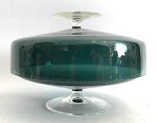 Doppelschale Turmalin Glas WMF Design:Wilhelm Wagenfeld Double Bowl 60s 60er