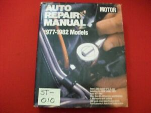 VINTAGE 1977-82 MOTOR'S MANUAL RESTORATION REPAIR AMX RIVIERA LTD CUTLASS LeMANS