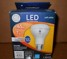 NEW GE Soft White LED 65W 7W Dimmable Indoor Floodlight Long Life Low Energy R20