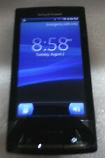 Sony XPERIA X10a 1GB Blk AT&T Fair Condition  Cracked Glass Read Below