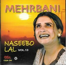 NASEEBO LAL - MEHRBANI VOL 13 - NEW SOUND TRACK CD SONGS