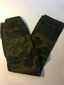 Vans New Range Camo Pants Youth Boys Size Medium
