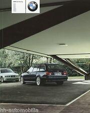 Prospekt BMW 5er Touring 2003 Autoprospekt 3 11 005 022 520i 530i 540i 530d 525d