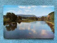 Pine Creek at Jersey Shore, Pennsylvania Vintage 1960 Postcard