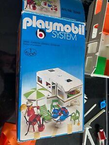 Playmobil Klicky Wohnmobil / Camper 3258 und Wohnwagen 3249 mit original Karton