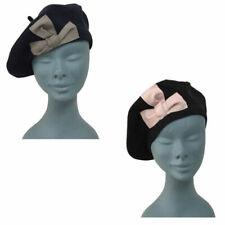 Chapeaux bérets en 100% coton pour femme