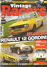 VINTAGE RACERS 3 R12 GORDINI COUPE A112 ABARTH COUPE ABARTH 1000 TC ESCORT MEXIC