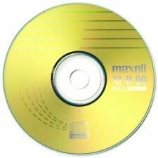 250 x Maxell CD-R XL-II Audio Music Blank Discs Scratch Proof Recording Disc