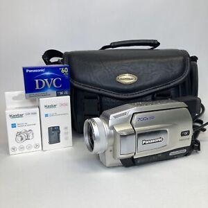 Panasonic PV-DV53D - NTSC Mini DV Camcorder -Video Transfer Camera Bundle TESTED