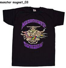 MONSTER MAGNET  T-shirt Printed