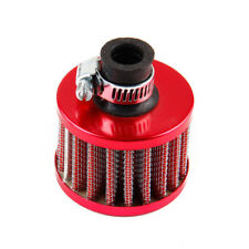 1PC Red Small Mushroom Head 12mm Secondary Mini Cold Air Auto Intake Filter