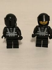 Vintage Lego Space Blactron 1 Pattern Minifigure X 2