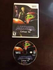 Metroid: Other M (Nintendo Wii, 2010) - W/ Case
