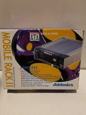 """Addonics AAHDSA35CS-R Combo Hard Dive II Aluminum Enclosure 1 x 3.5/"""""""
