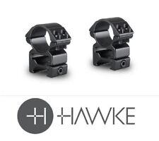 *Hawke Match Mount 30mm 2 Piece Weaver High Scope Mounts #22117
