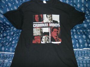 Criminal Minds T Shirt Size Large