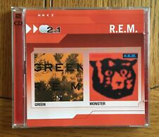 R.E.M. - Green & Monster 2CD WB's Records (2in1 Series)