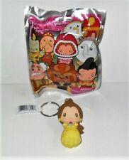 DISNEY BELLE AND FRIENDS FIGURAL KEYRING SINGLE LOOSE BELLE EXCLUSIVE A
