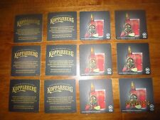 """12 KOPPARBERG CIDER collectable  COASTERS Australian Issue """"Square"""""""