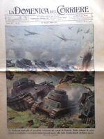 La Domenica del Corriere 26 Maggio 1940 WW2 Ciano Vigilia Italiana Vetri Murano