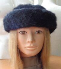 """EXCELLENT FAUX FAKE FUR HAT CAP WOMEN WOMAN SIZE 21.5"""" SMALL"""
