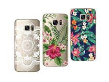 Samsung Galaxy S7 - Paquete de 3 Carcasas Gel Suave con Estampado Elegante