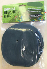 2 Replacement Charcoal Odour Filters for Eddingtons Deluxe Compost Caddy