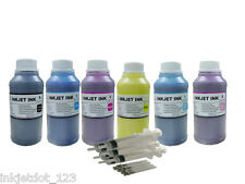 6x250ml refill pigment ink for HP 83 DesignJet 5000 Series 5000 UV 5000ps UV