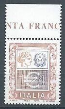 2002 ITALIA ALTO VALORE 1,24 EURO MNH **