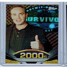 TOPPS AMERICAN PIE 2011 TRADING CARD # 180 SURVIVOR PREMIERES FOIL